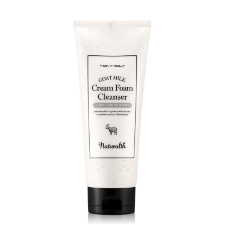 Naturalth Goat Milk Cream Foam Cleanser
