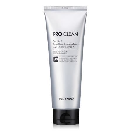 Pro Clean Smoky Scrub Deep Cleansing Foam