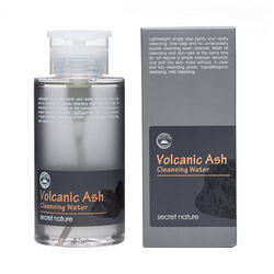Volcanic Ash Cleansing Water