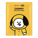 MEDIHEAL BT21  CHIMMY  FACE POINT MASK SET