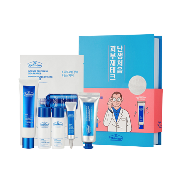 Dr.Belmeur Advanced Cica Recovery Cream Full Package 6items