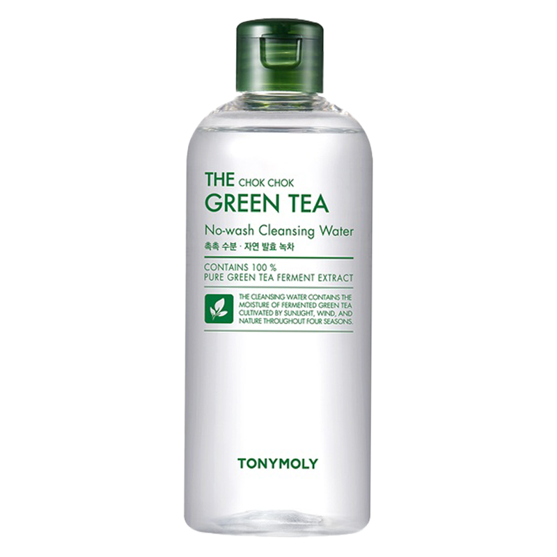 The Chok Chok Green Tea Cleansing Water
