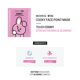MEDIHEAL BT21 COOKY FACE POINT MASK SET