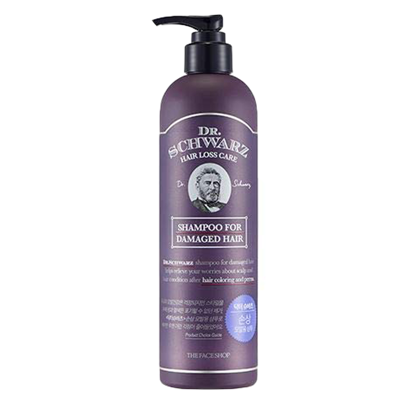 DR.SCHWARZ DAMAGED HAIR SHAMPOO