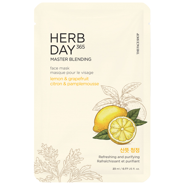 Herb Day 365 Master Blending Mask | LEMON & GRAPEFRUIT