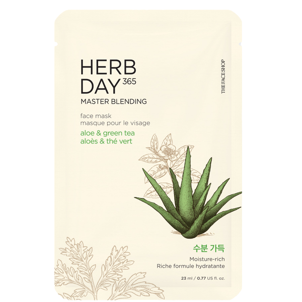 Herb Day 365 Master Blending Mask | ALOE & GREEN TEA
