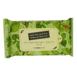 HERB DAY Lip&Eye Remover Wipes.