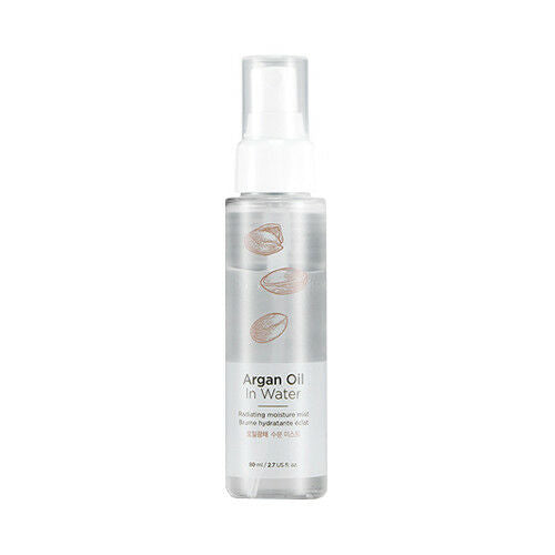 ARGAN OIL IN WATER RADIATING MOISTURE MIST