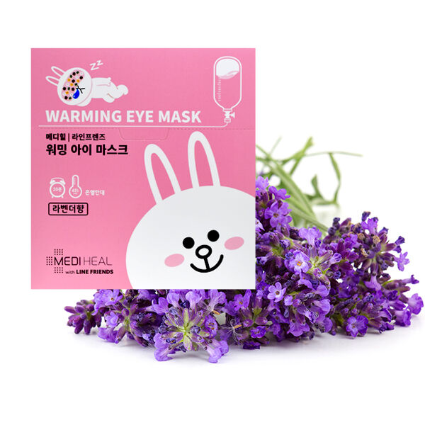 MEDIHEAL l LINE FRIENDS WARMING EYE MASK (LAVENDER)
