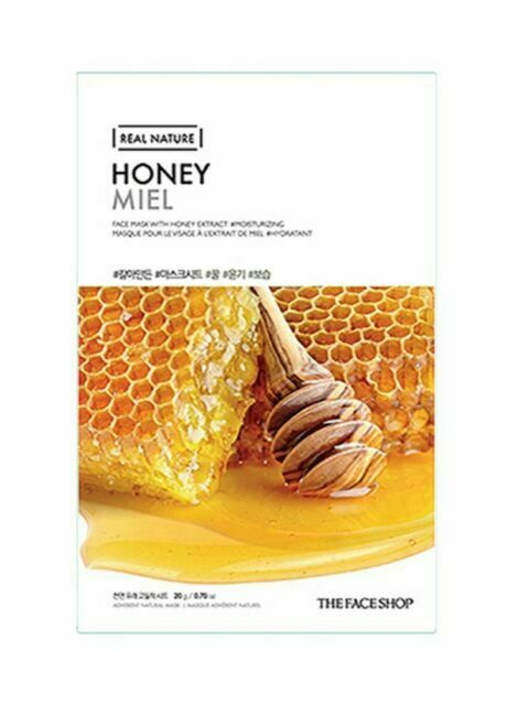 REAL NATURE MASK SHEET |HONEY