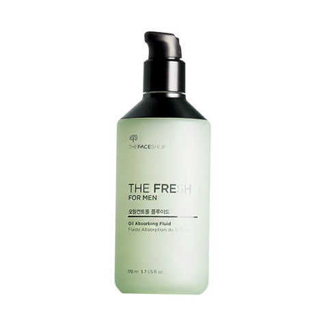 THE FRESH FOR MEN OIL ABSORBING FLUID-Kpop Beauty