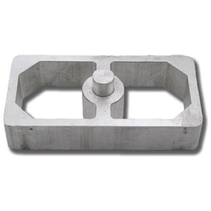 Aluminum Lowering Block