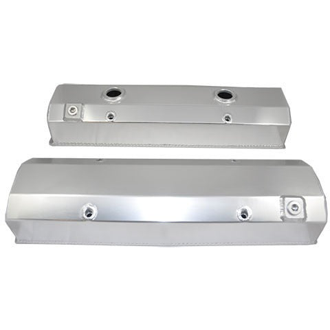 SBC Fabricated Valve Cover No Oiler (set)