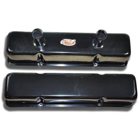 Circle Track SBC Valve Cover Black (Pair)