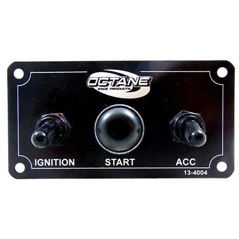 Slim Ignition Panel w/ Accessory Switch