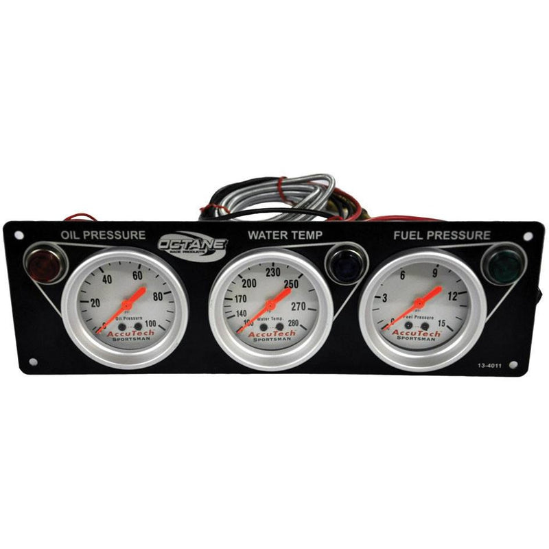 3 Gauge Oil Pressure-Water Temperature-Fuel Pressure