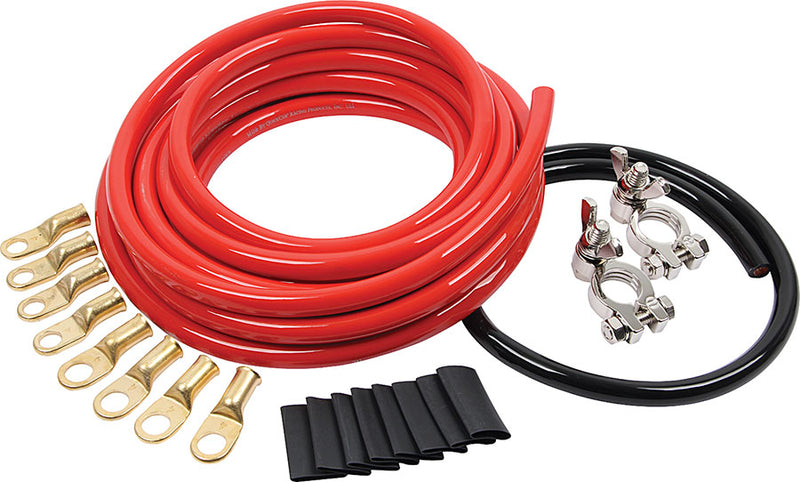 Battery Cable Kit 2 Gauge 1 Battery