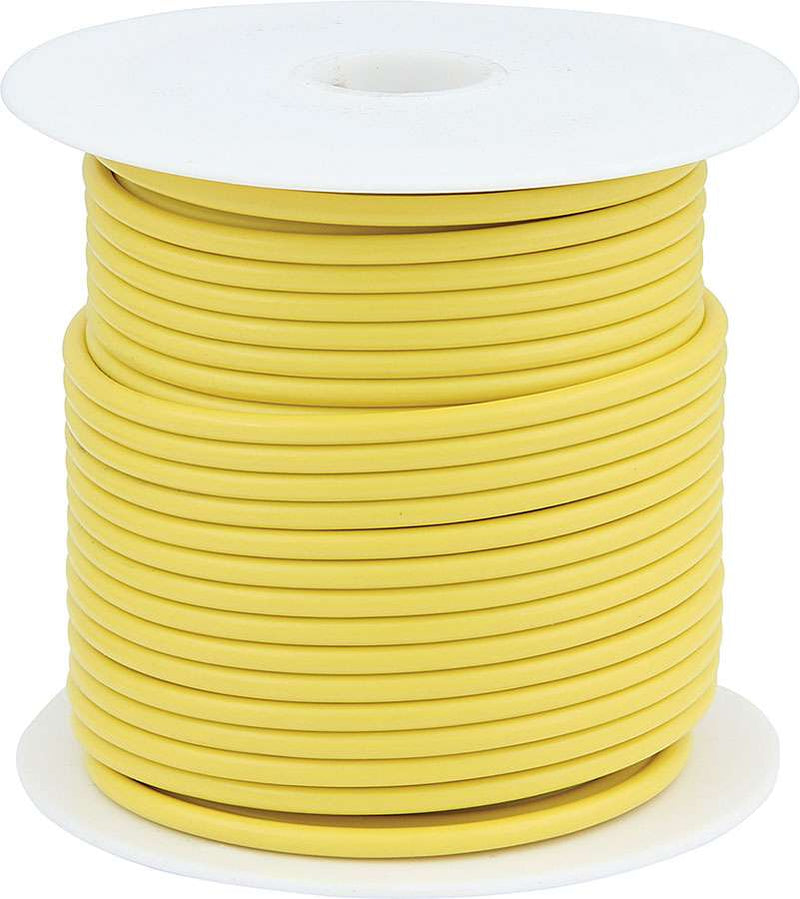 14 AWG Yellow Primary Wire 100ft