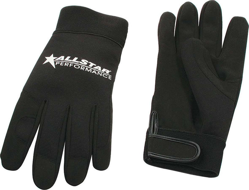 Allstar Gloves Blk X-Lg Crew Gloves