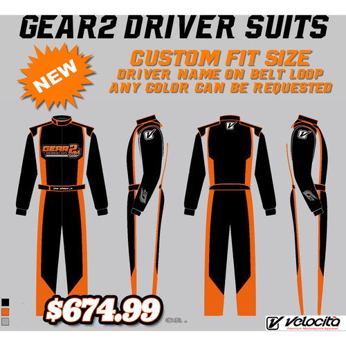 Gear 2 Custom Fit Suit by Velocita