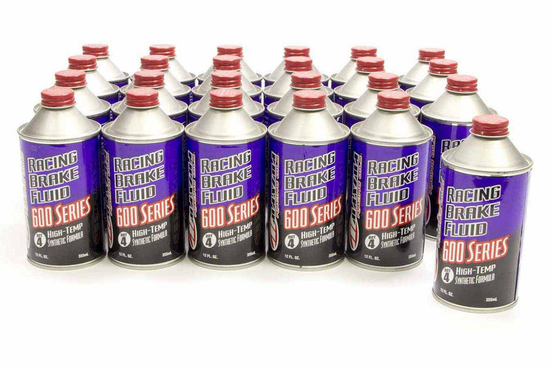Brake Fluid DOT 4 High Temp Case 24x12oz