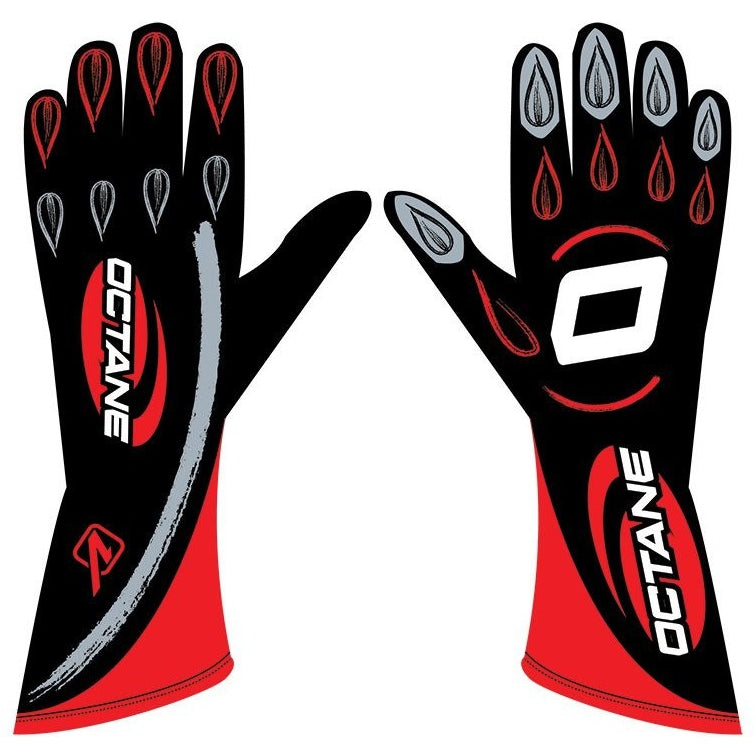 Racing Glove Blk/Red