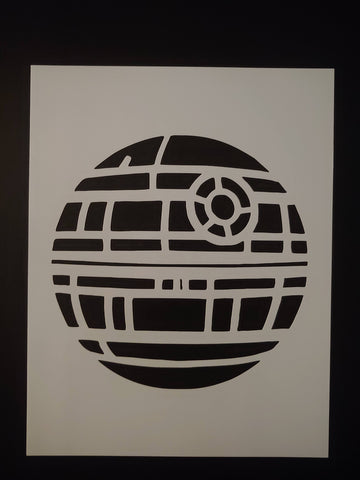 Star Wars Death Star Completed Full - Stencil
