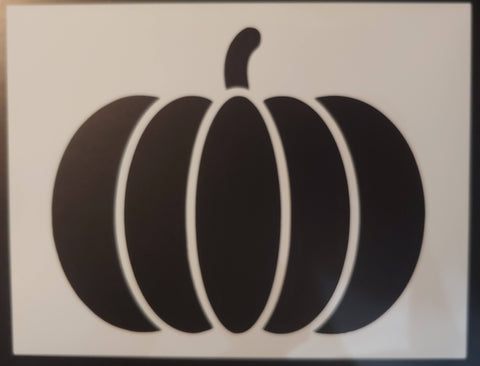 Pumpkin Halloween Fall Thanksgiving - Custom Stencil