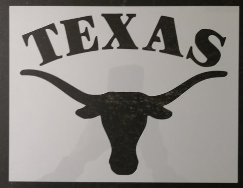 Texas Longhorns Custom Stencil