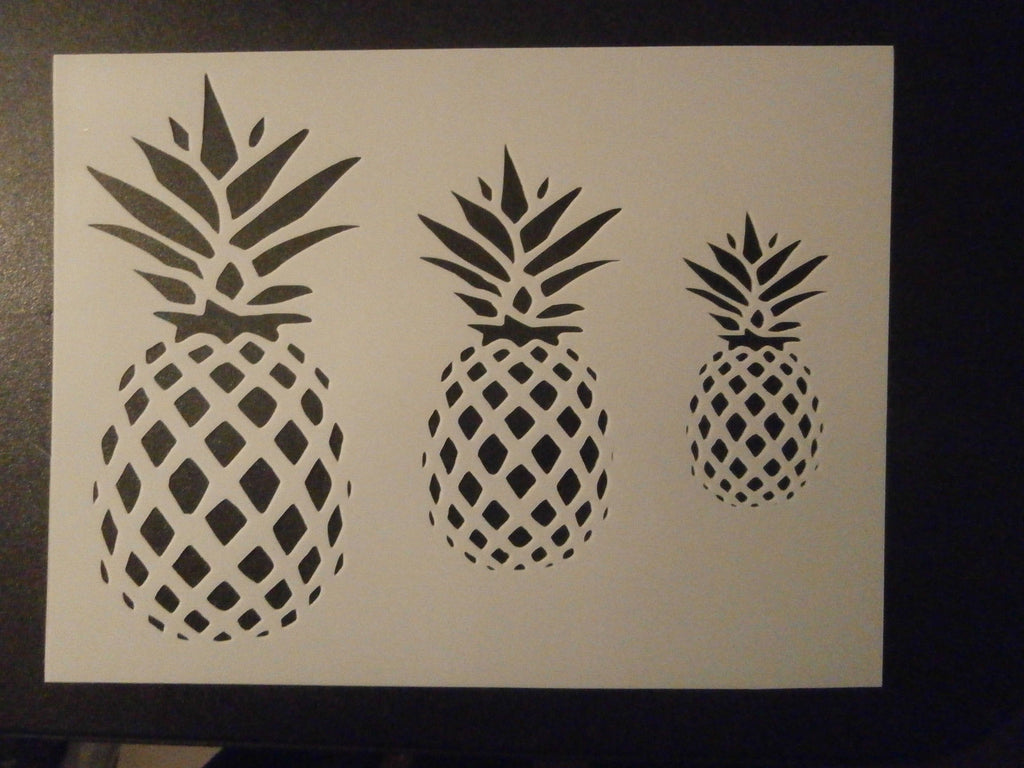 Pineapples - Stencil