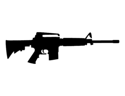 AR15 AR-15 Rifle Gun Custom Stencil