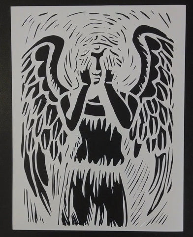 Dr. Who Weeping Angel - Stencil