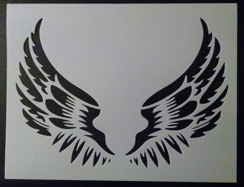 Angel Wings - Stencil