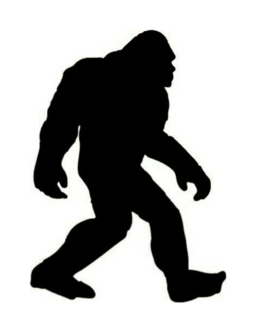Bigfoot Sasquatch Custom Stencil