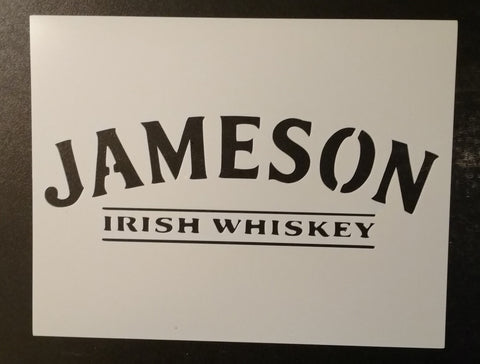 Jameson Irish Whiskey - Stencil