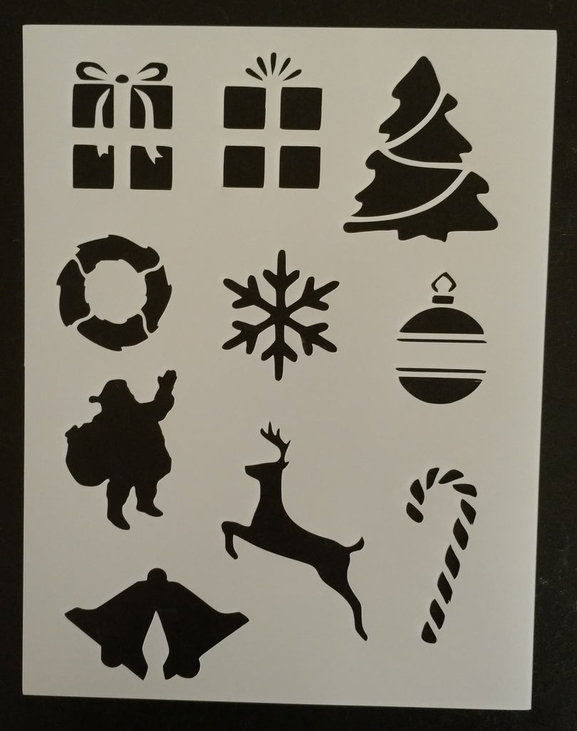 Miscellaneous Christmas - Stencil