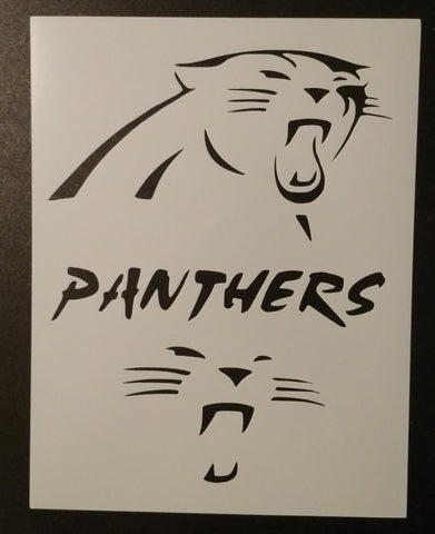 Carolina Panthers - Stencil