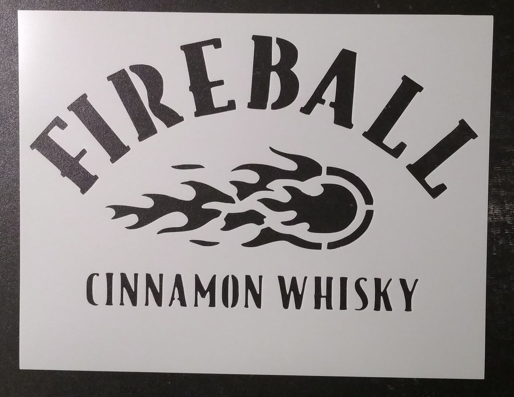 Fireball Cinnamon Whisky - Stencil