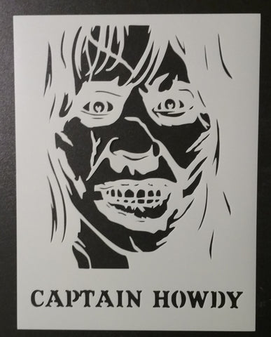The Exorcist / Captain Howdy - Stencil