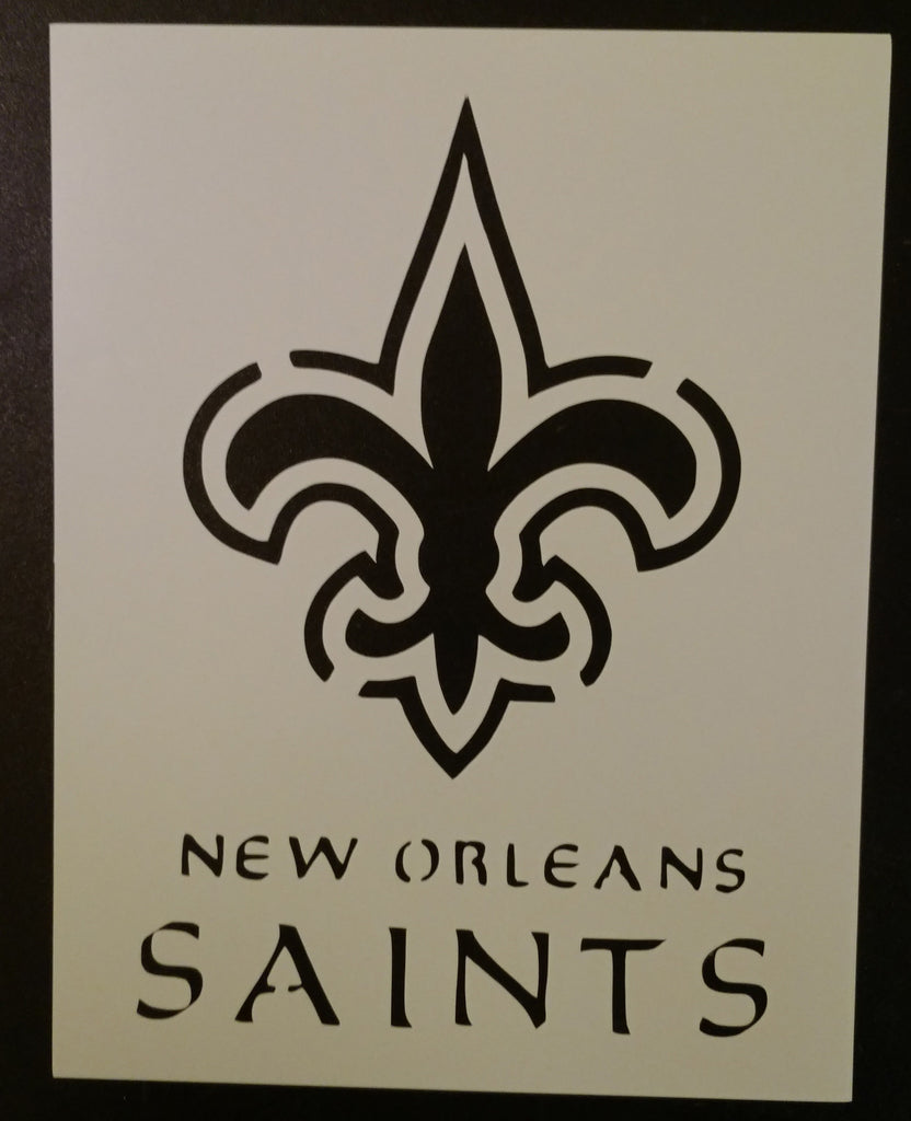 New Orleans Saints - Stencil