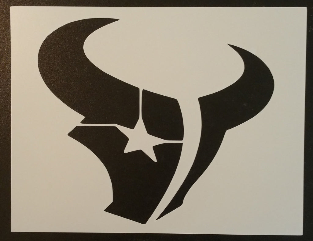 Houston Texans Stencil