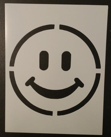 Big Smiley Face - Stencil