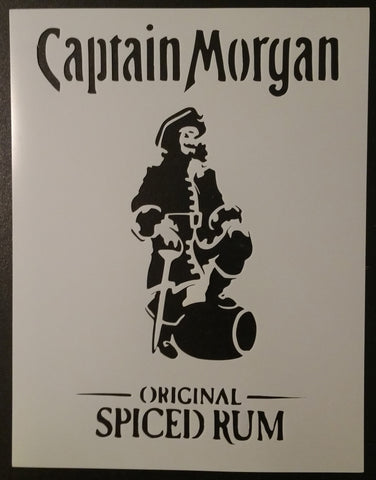 Captain Morgan - Stencil