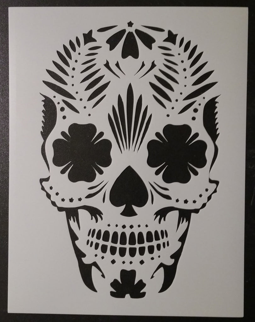 Day of the Dead / Dia de los Muertos / Sugar Skull Stencil