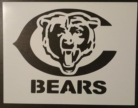 Chicago Bears Stencil