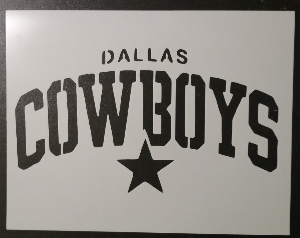 Dallas Cowboys Stencil