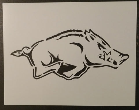 Arkansas Razorbacks - Stencil