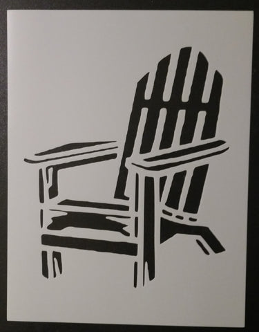 Adirondack Beach Chair - Stencil