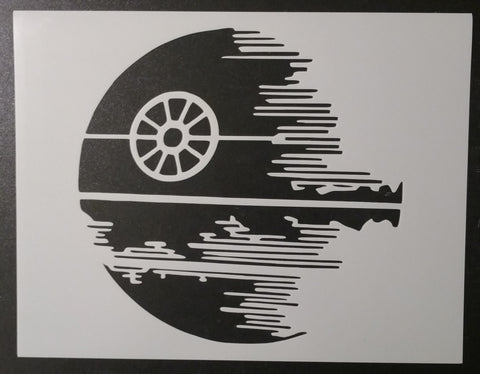 Star Wars Death Star - Stencil