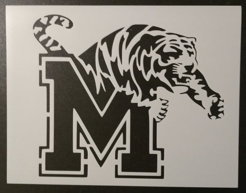University of Memphis Tigers - Stencil